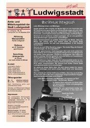 Mitteilungsblatt Aktuelle Ausgabe - Ludwigsstadt