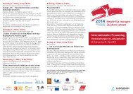 Programm Internationaler Frauentag 2014 (pdf ... - Ludwigshafen