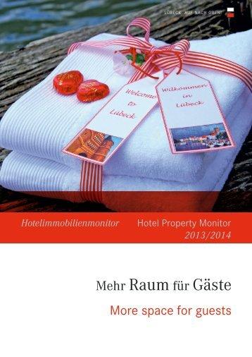 Hotelimmobilienmonitor 2013/2014 - Wirtschaftsförderung Lübeck