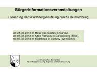 Vortragsfolien Bürgerinformationsveranstaltungen - Landkreis ...