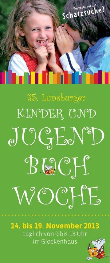 Programm der Jugendbuchwoche 2013 (pdf 0,66 MB) - Lüneburg