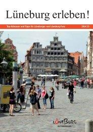 Broschüre für Neubürger: Lüneburg erleben 2014/15
