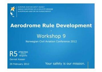 NO Workshop Bodo 29022012 [Compatibility Mode] - Luftfartstilsynet