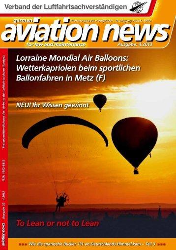 PDF herunterladen - Verband der Luftfahrtsachverständigen