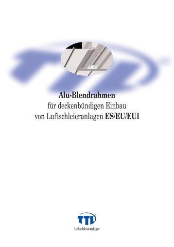 Alu-Blendrahmen - LSG engineering