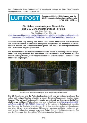LP 021/14 - Luftpost Kaiserslautern