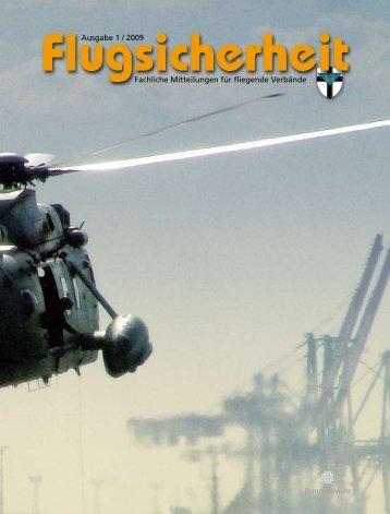 Ausgabe 1 / 2009 Fachliche Mitteilungen für fliegende ... - Luftwaffe