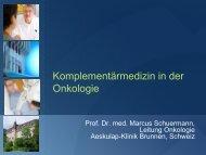 Komplementärmedizin in der Onkologie