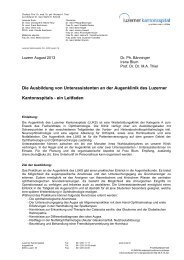 Leitfaden für Unterassistenen - Luzerner Kantonsspital