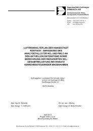 Luftreinhalteplan Rostock 2013 - Landesamt für Umwelt ...