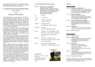 Einladung, Programm und Anmeldung - Landesamt für Umwelt ...