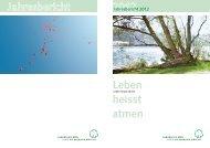 Jahresbericht 2012 - Lungenliga