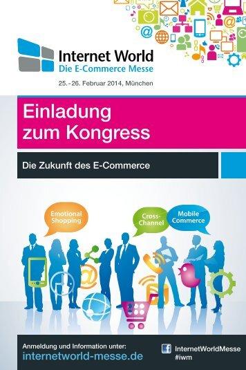 Download Kongressflyer - Internet World