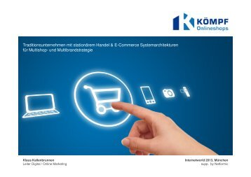 Traditionsunternehmen mit stationärem Handel & E ... - Internet World
