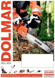 Dolmar Programmübersicht 2013 / 2014 - Lustenberger Landtechnik ...
