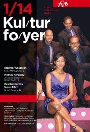 Kulturfoyer 01/2014 - Freie Volksbühne Berlin
