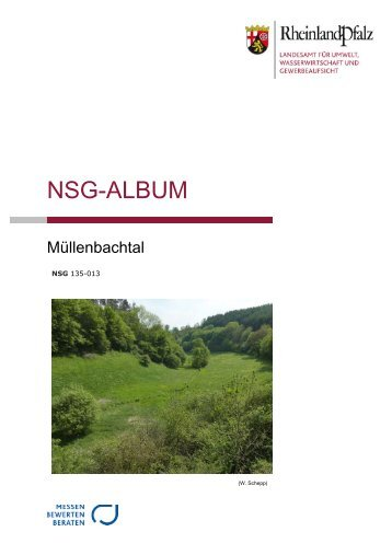 Müllenbachtal - Landesamt für Umwelt, Wasserwirtschaft und ...