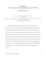 (Watch Me) The Construction of Masculine Identity in Chaos Walking