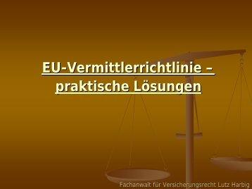 Rechtsanwalt Lutz Harbig Tel.: 0341/4626585 Funk: 0172 ... - LVFM