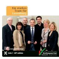 Ein starkes Team für Laxenburg - Laxenburger Volkspartei