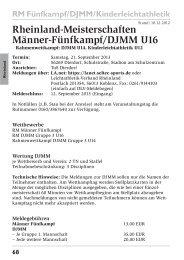 Rheinland-Meisterschaften Männer-Fünfkampf/DJMM U16