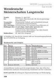 Westdeutsche Meisterschaften Langstrecke - Leichtathletik-Verband ...