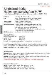 Ausschreibung (druckoptimiert) - Leichtathletik-Verband Rheinland
