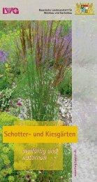 Schotter- und Kiesgärten - Bayerische Landesanstalt für Weinbau ...