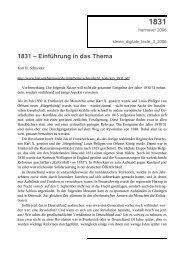 1831 - eine Einführung