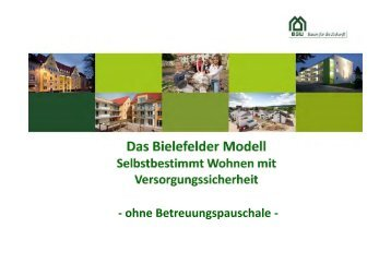 Das Bielefelder Modell