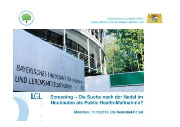 Screening - Master of Public Health