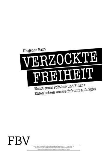von Diogenes Rant (ISBN 978-3-89879-854-9) - Münchner ...
