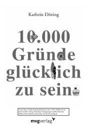 10.000 Gründe glücklich zu sein - Münchner Verlagsgruppe