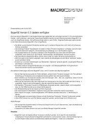 BogartSE Version 5.5 Update verfügbar