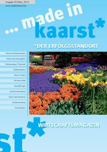 WIRTSCHAFTSMAGAZIN - made in kaarst