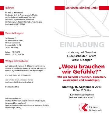 mehr - Märkische Kliniken GmbH