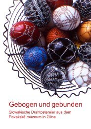 Katalog zur Ausstellung - Auszug