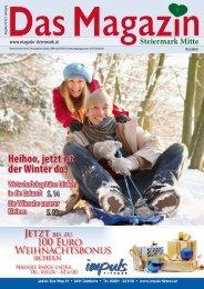 Dezember 2012 - DAS MAGAZIN Steiermark-Mitte
