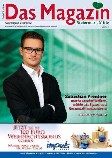 Dezember 2013 - DAS MAGAZIN Steiermark-Mitte