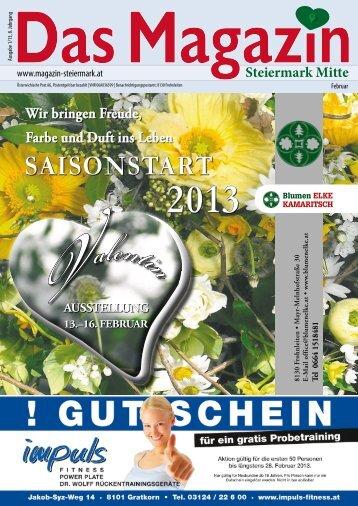 Februar 2013 - DAS MAGAZIN Steiermark-Mitte
