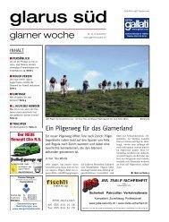 Glarner Woche, Glarus Süd, 3.4.2013