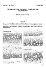 Flora vascular del Monte de Valdelatas y su entorno - Ministerio de ...
