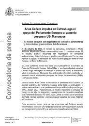 13.10.21 Conv. A Cañete reuniones Estrasburgo ok - Ministerio de ...