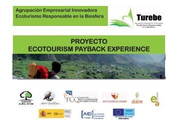 proyecto ecotourism payback experience - Ministerio de Agricultura ...