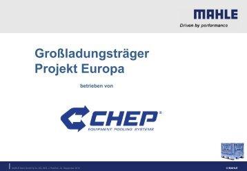 CHEP Information Behälterpool