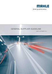 130925_mahle_General Supplier Guideline_02.indd - Mahle-industry