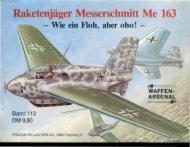 Raketenjäger Messerschmitt Me 163