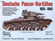 fmßeutsche Panzer-Raritäten