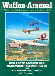 DER ERSTE BOMBER DER WEHRMACHT DORNIER D0 23