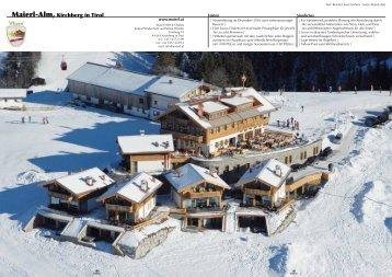 Maierl-Alm, Kirchberg in Tirol - Maierl-Alm & Chalets